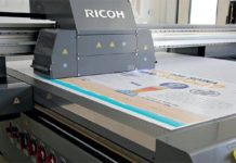 Ricoh Introduces Pro TF6250 Wide Format Flatbed Printer