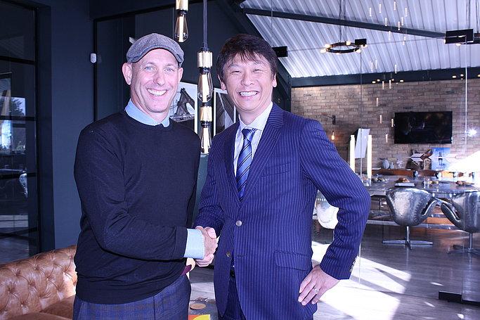 Mark Cardwell, Echo House and Hideaki Kawai, Fujifilm Graphic Systems.
