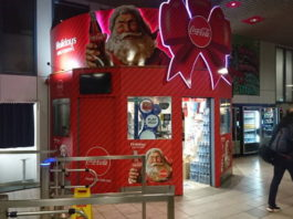 Vinehall Displays Transforms Coca Cola Kiosk Using Roland SOLJET