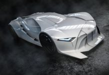 World's first 3D concept car inspired by David Bowie.