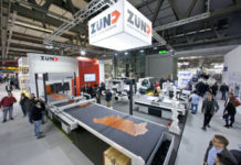 Zünd showcasing leather cutting solutions.