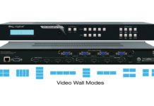 Key Digital Reveals KD-VW4x4Pro Seamless Switch Video Wall Processor