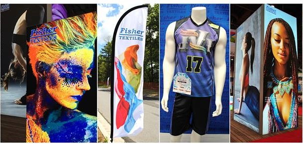 LexJet announced as exclusive distributor for Fisher Textile dye-sublimation fabrics.