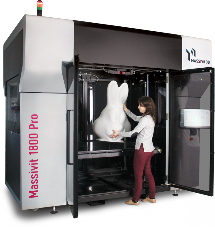 Newly Launched Massivit 3D Pro Designed To Maximise Efficiency.