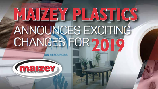 Maizey Plastics Annouces Exciting Changes For 2019