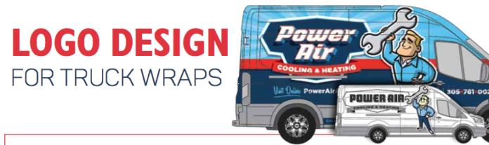 Logo design for truck wraps.