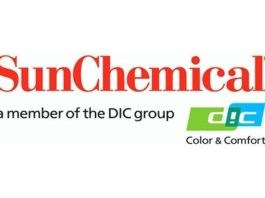Sun Chemical showcasing glass printing solutions.