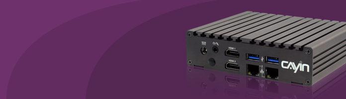 Cayin technology Intros SMP-2200 Digital Signage Media Series