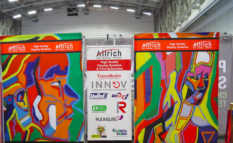 Expo Stands Cape Town : Allrich exhibits range of display products at sign africa expo