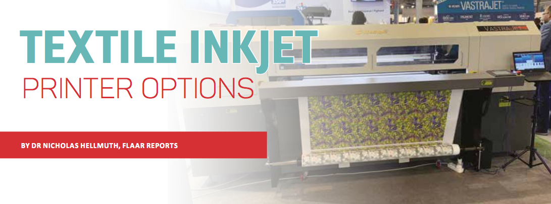 Textile Inkjet Printer Options - Sign Africa