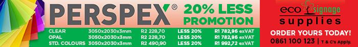 ECOsignage-Perspex Promo