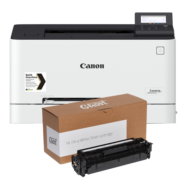 Ghost Announces New White Toner Printer