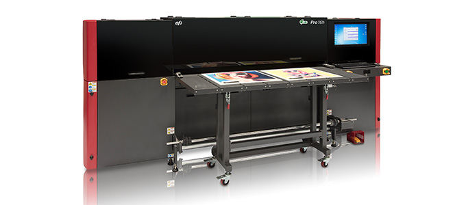 EFI Wide Format Printer Increases Production