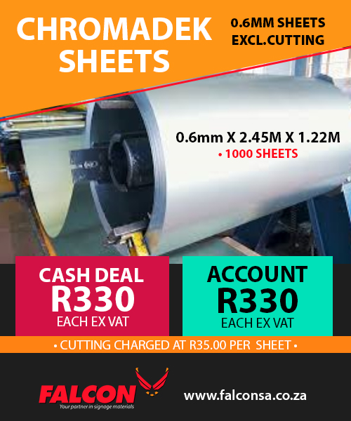 FALCON-WeeklyDeal-Chromadek Sheets