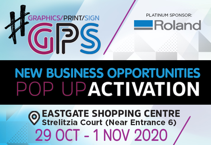 See New Business Opportunities At The Graphics Print Sign Pop-Up Activation