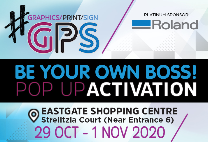 Be Inspired To Start Your Own Business At The Graphics Print Sign Pop-Up Activation