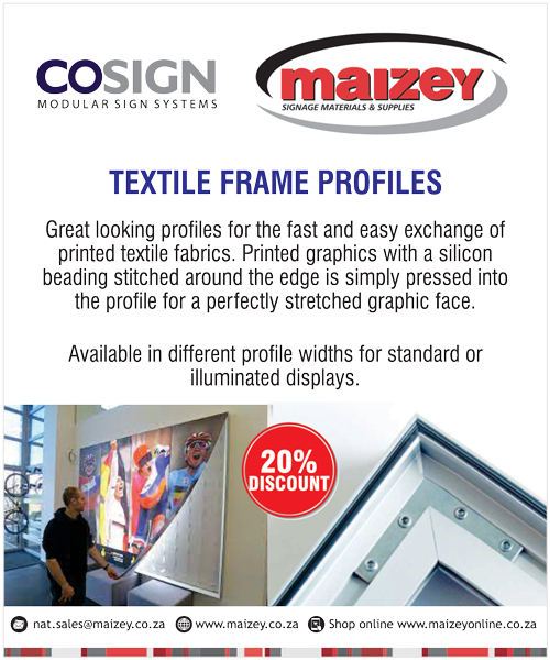 WeeklyDeals-MaizeyW30-COSIGN Textile Frame