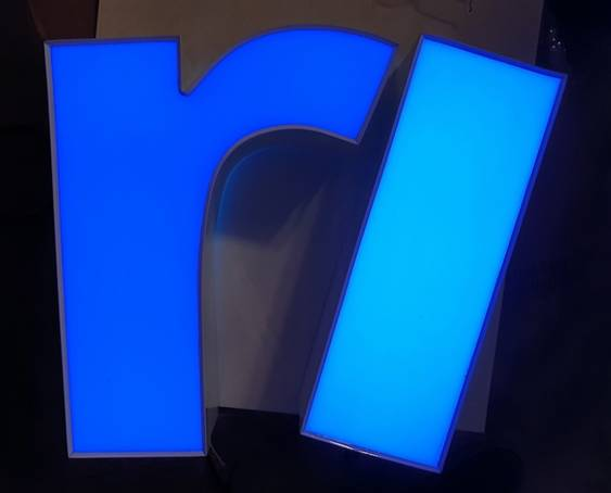 Exion Corporation Launches Blue LED Module For Signage
