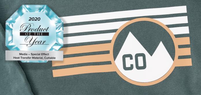 Stahls' Heat Transfer T-Shirt Vinyl Wins Category Award