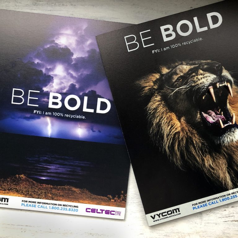 Vycom Expands PVC Sheet Range For Signage And Graphics