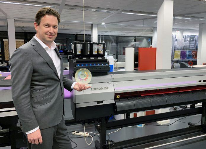 Mimaki Europe Announces Award WFor LED-UV Inkjet Printer