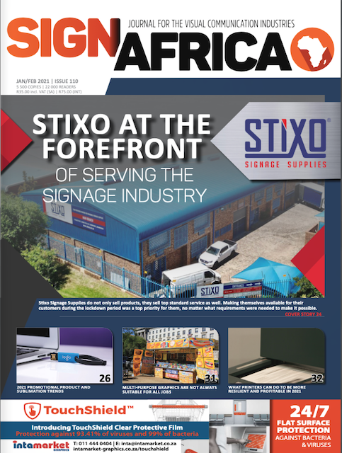 Read The Latest Online And Interactive Sign Africa Journal