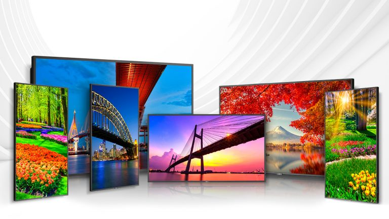 Sharp NEC Display Announces Tiered Solutions For Digital Signage