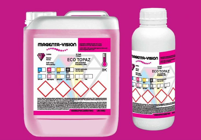 Magenta-Vision Announces New Eco-Solvent Ink For Wide And Super-Wide Format Digital Printers