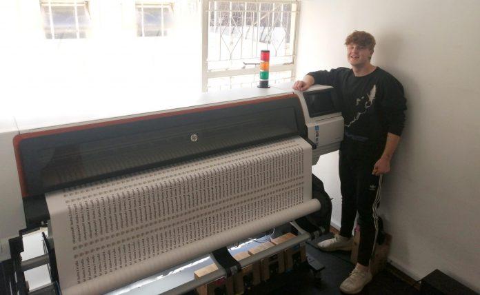 Midcomp Installs HP Stitch Solution At Garment Specialist