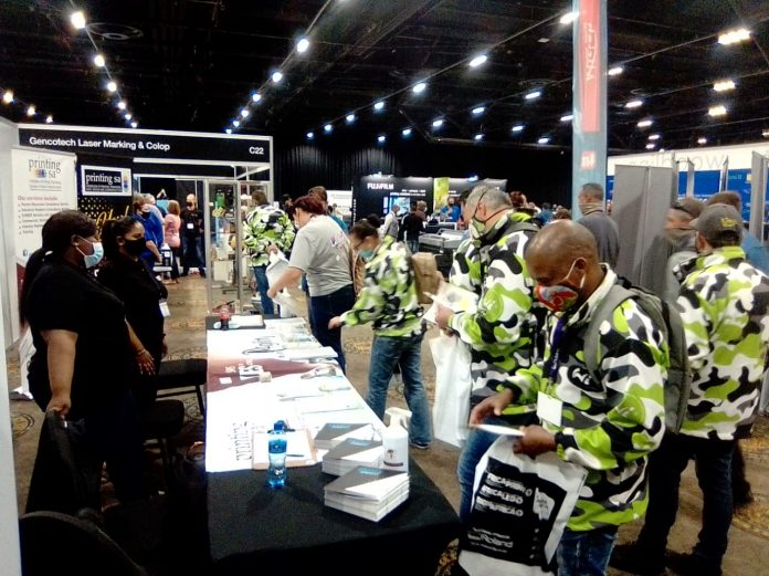 Printing SA Outline Membership Benefits At Africa Print Gauteng Expo