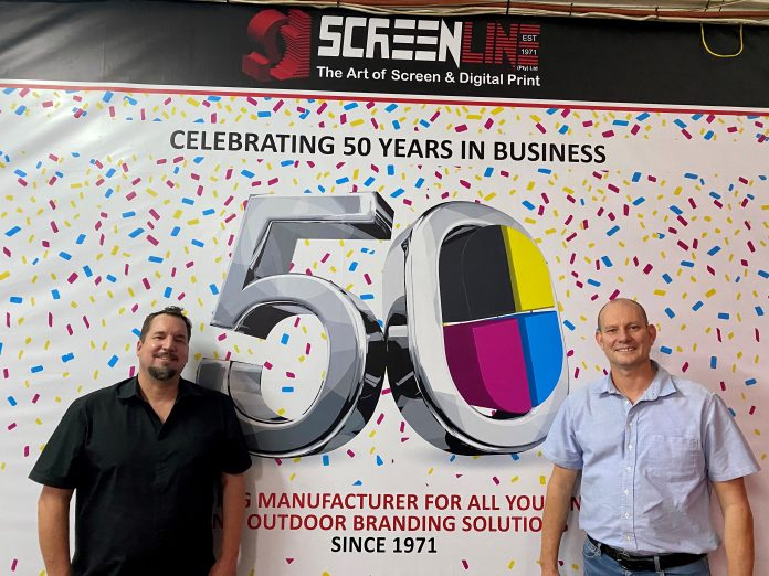 Screenline Celerbrates 50 Years In The Printing And Branding Industry