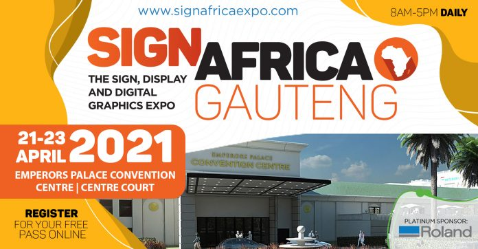 See The Latest Wide Format Technology At The Sign Africa Gauteng Expo
