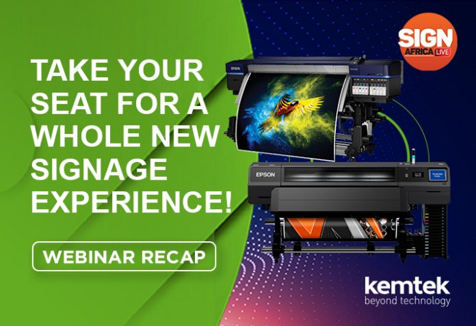 Kemtek And Epson Discuss New Large Format And Signage Solutions