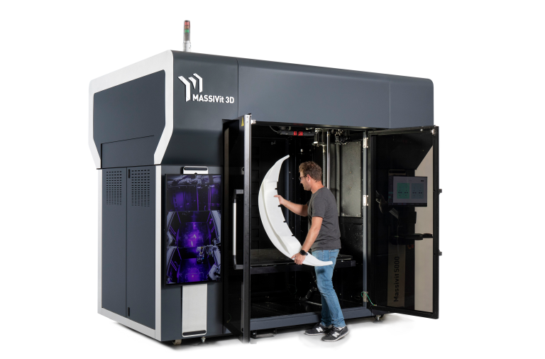 Massivit 3D Launches Industrial-Grade 3D Printer