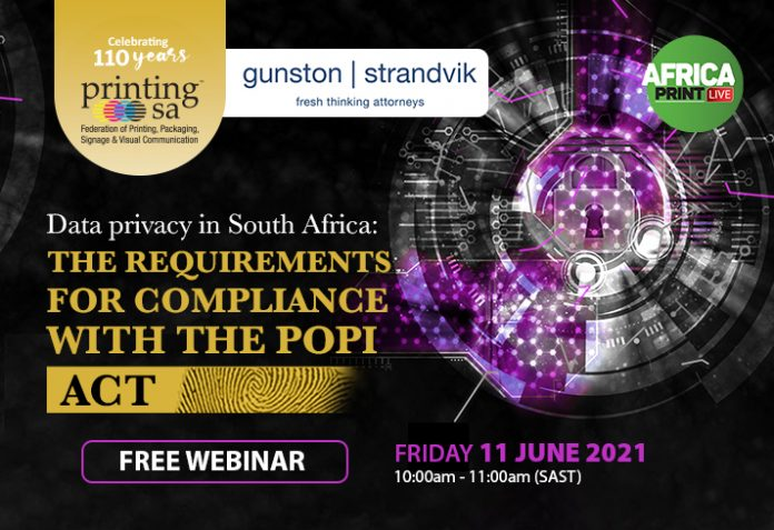 Data Privacy In South Africa- The Requirements For Compliance With The POPI Act
