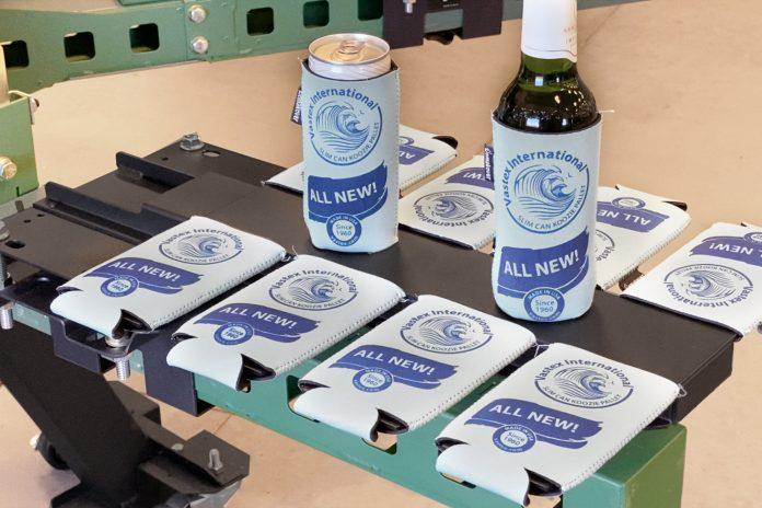 Vastex International Introduces New Slim Insulated Beverage Holder Pallet For Screen Printing