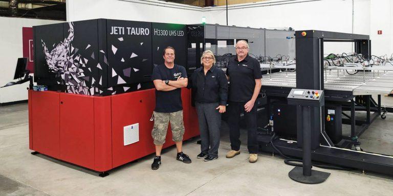 Agfa UV LED Inkjet System Expands Production Capabilities