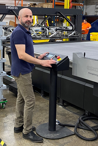 Large Format Specialist Invests In Kongsberg Finishing Solution