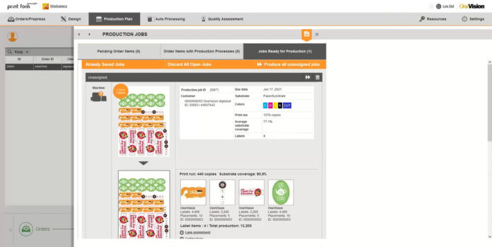 OneVision's New Software Shortens Print Make-Ready Times
