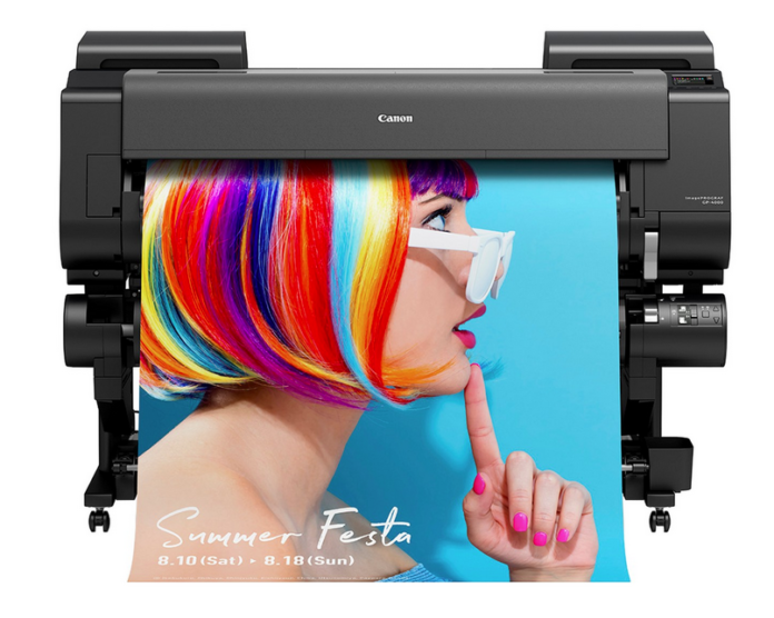Canon Releasing Four New Large Format Printers