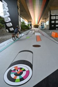 Drytac Films And Laminates Used In Walkway Project
