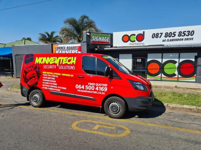 Vehicle Wrap Of The Week- OCD Marketing